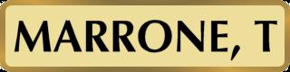 MARRONE_T_nameplate